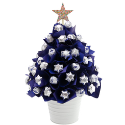 Blue Baci Christmas Tree