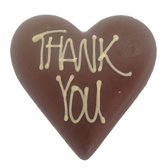 Thank You Chocolate Heart