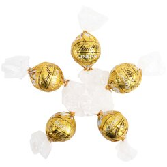 6 White Chocolate Lindt Balls