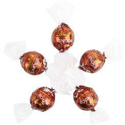 6 Hazelnut Chocolate Lindt Balls