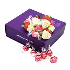 Strawb & Cream Lindt Gift Box