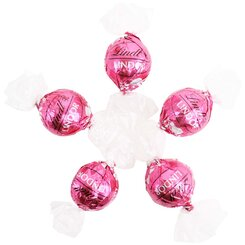 6 Strawberries & Cream Lindt Balls