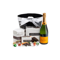 Veuve and Chocolate Treats