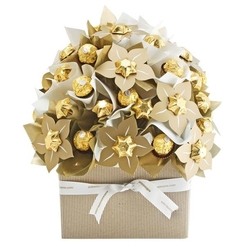 Classic Gold Chocolate Bouquet