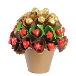 A Rose Garden Chocolate Bouquet