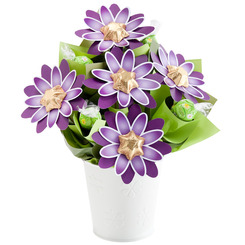 Sweet Purple Chocolate Bouquet