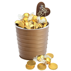 Golden Thank you Bucket