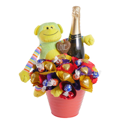 Toy Chocolate Bouquets