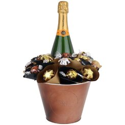 Veuve Chocolate Arrangement Grand