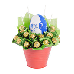 Kangaroo Football Chocolate Bouquet