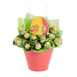 Brisbane Lions Football Chocolate Bouquet