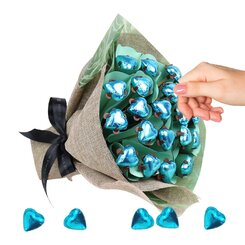24 Chocolates - Aqua Love Posy Refill