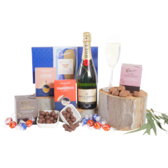 Premium Moet and Chocolate Gift Hamper