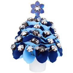 Magical Navy Christmas Tree