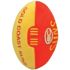 AFL Gold Coast Suns Plush Football