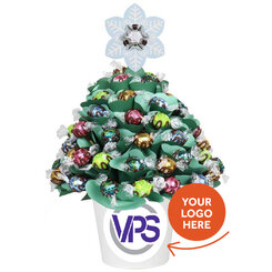 Personalised Corporate Pastel Grand Christmas Tree