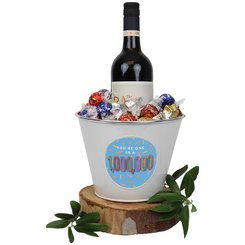 You're One in a Million! Wine Mega Bucket