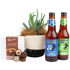 Succulent & Craft Beer Gourmet Hamper