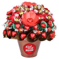 Get Well Rose Garden Luxury Chocolate Bouquet