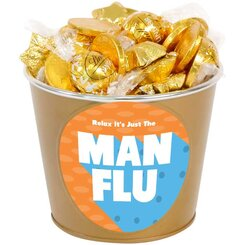 Man Flu Chocolate Bucket of Gold
