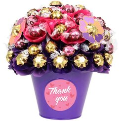 Thank You Blush Luxury Chocolate Bouquet