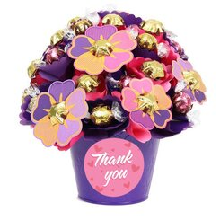 Thank You Blush Medium Chocolate Bouquet