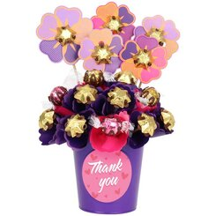 Thank You Blush Small Chocolate Bouquet