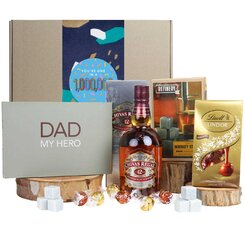 Dad My Hero Scotch Hamper