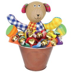 Charlie Bear Chocolate Bouquet