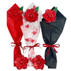Triple Red Rose Pack