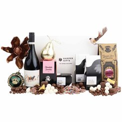 Red Wine Christmas Gift Hamper