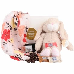Plush Bunny Treat Box