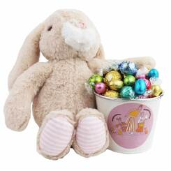Deluxe Easter Bucket with Bunny