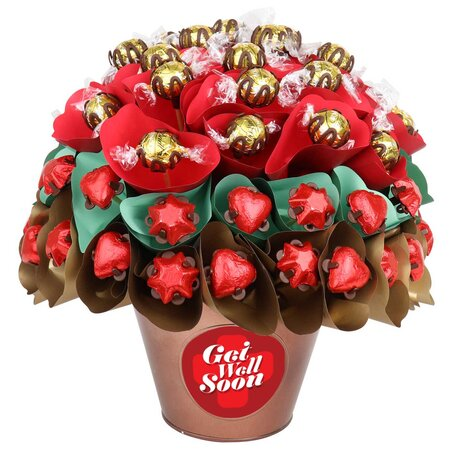 Get Well Rose Garden Large Chocolate Bouquet